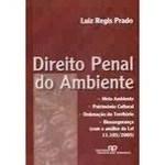 Derecho penal ambiental - Medio ambiente - Patrimonio cultural - Ordenación