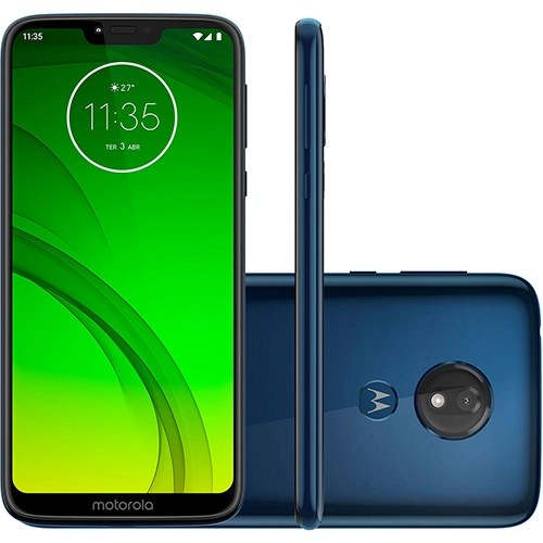 "Foto 1 - Smartphone Motorola Moto G7 Power 32GB Dual Chip Android Pie - 9.0 Tela 6.2"" 1.8 GHz Octa-Core 4G Câmera 12MP - Azul Navy"