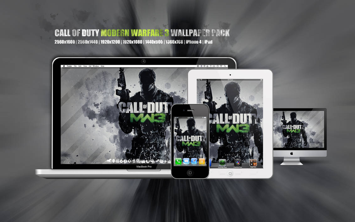 Cod Mw3 Wallpaper Pack Skinpack Customize Your Digital World