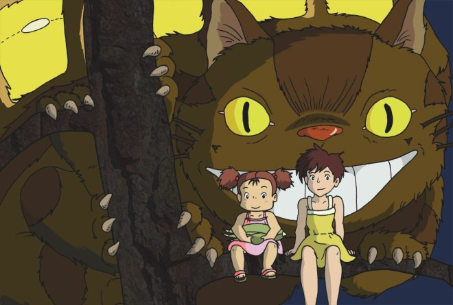 Catbus, Satsuki and Mei by AndyPritchard on DeviantArt