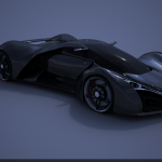 Ferrari F80 Concept Car Black By Selsdon20 On Deviantart