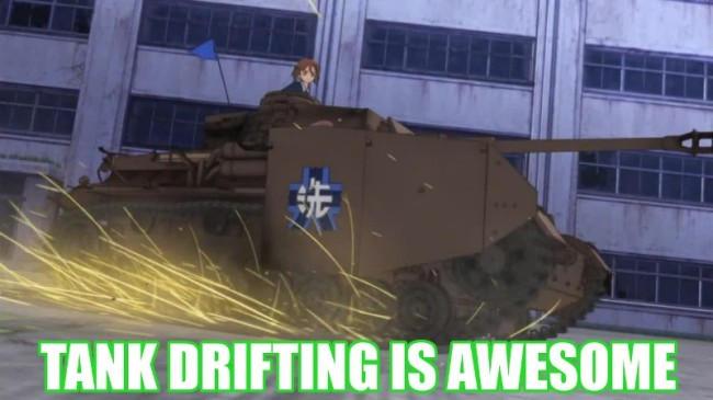 Girls Und Panzer Meme Gif By Turbofurby On Deviantart