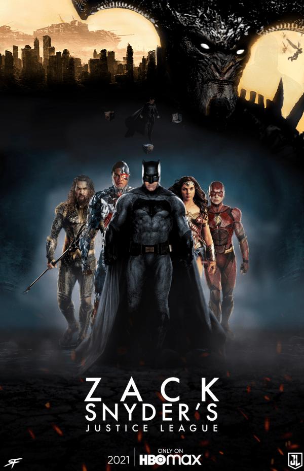 Zack Snyder's Justice League (2021) - Fan Poster by Sebastiansmind on  DeviantArt