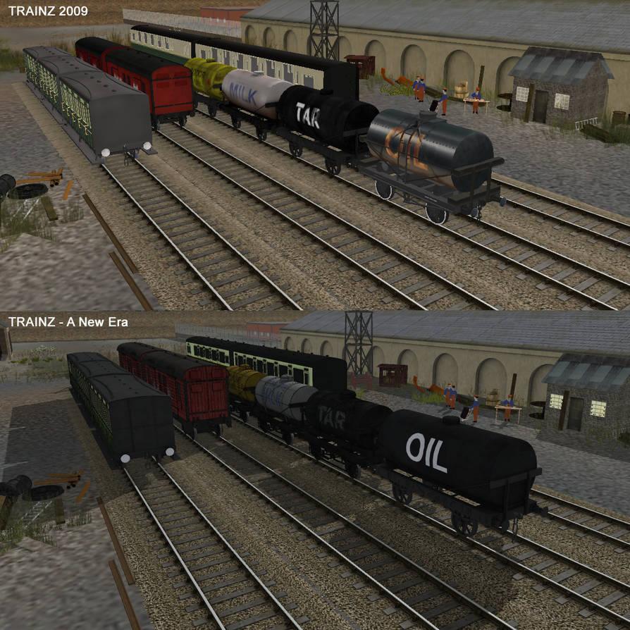 Thomas Flatbed Cgi Trainz