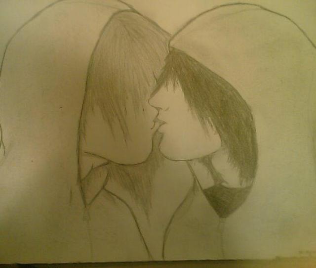 Emo Guys Kissing By Xemoxpookiex