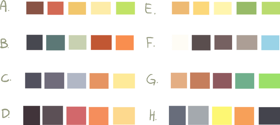 Color Schemes Free To Use By Smushey