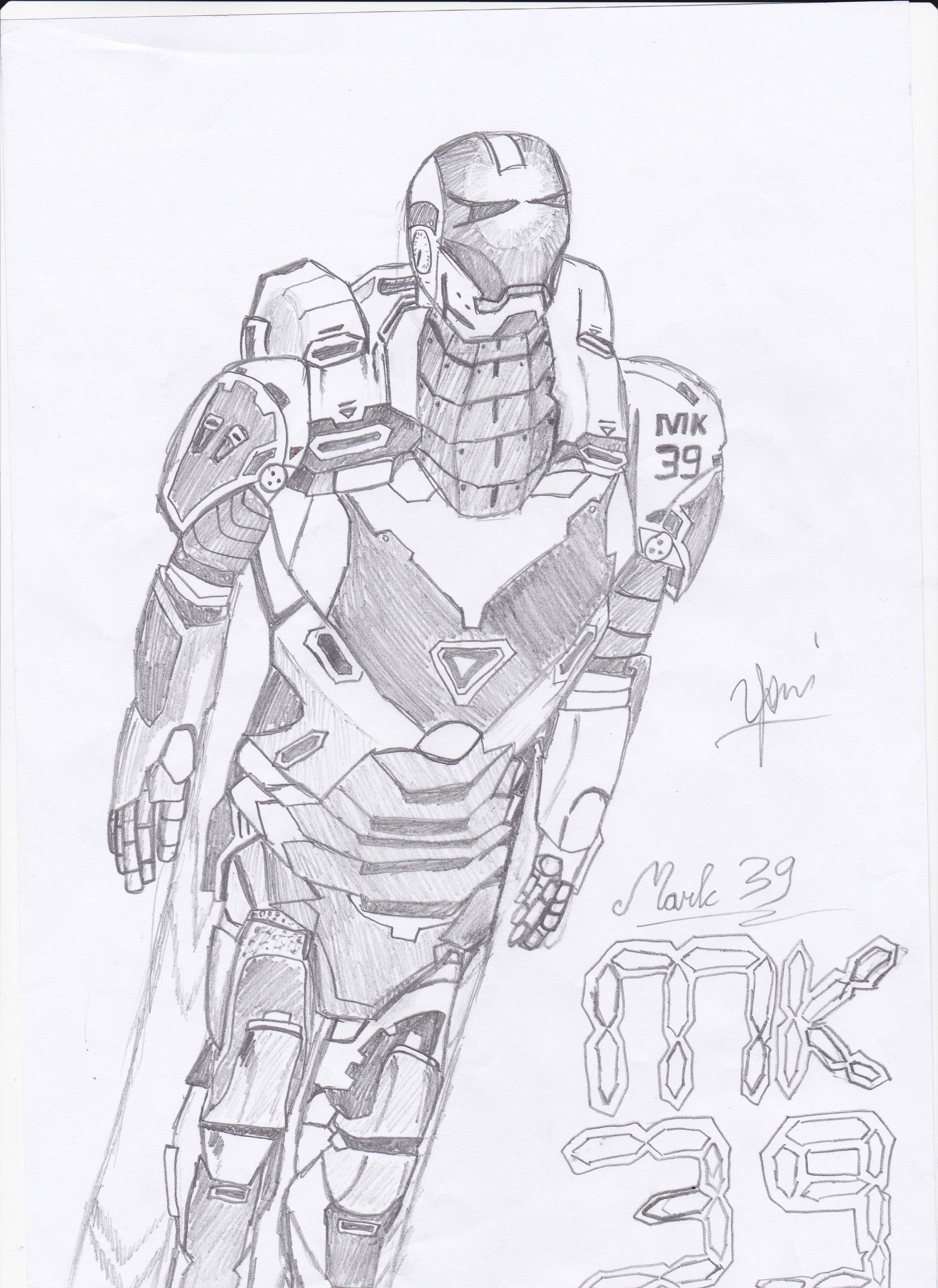 Mark 39 Starboost Iron Man 3 By Neonefario17 On Deviantart