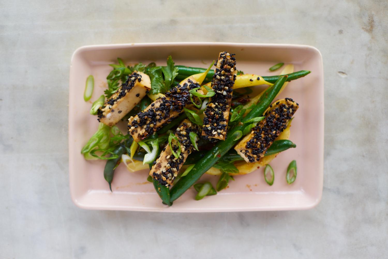 Golden-crusted Sesame Seeded Tofu | 101 Cookbooks