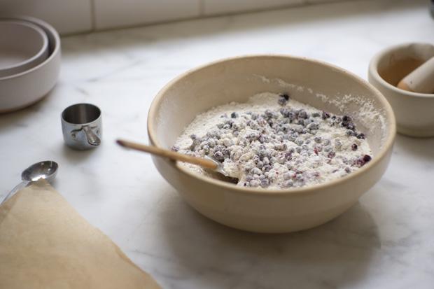 Sugar-topped Buttermilk Berry Muffin Recipe
