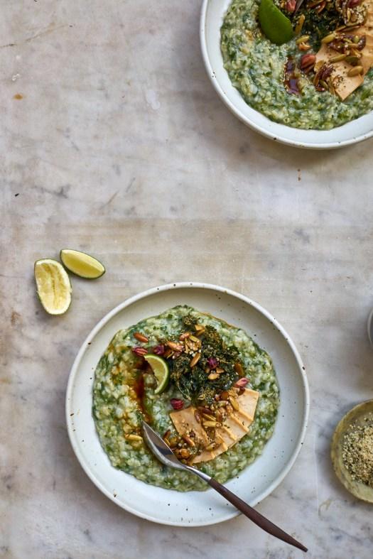 Life Changing Green Rice Porridge Recipe