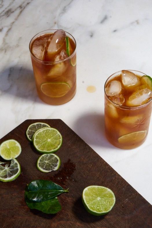 Kombucha Dark and Stormy Cocktail Recipe