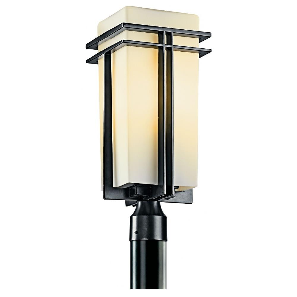 tremillo 1 light outdoor post mount 20 inches tall by 8 25 inches wide
