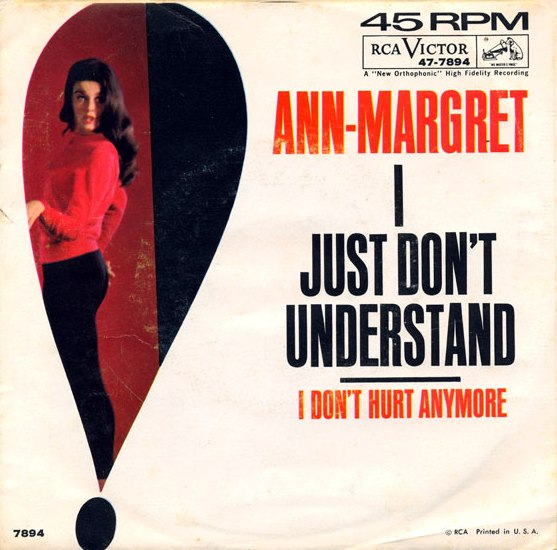 Image result for ann-margret I Just Don't Understand