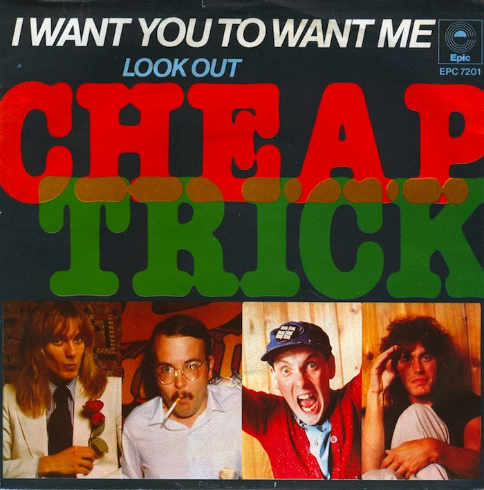 Image result for cheap trick i want you to want me
