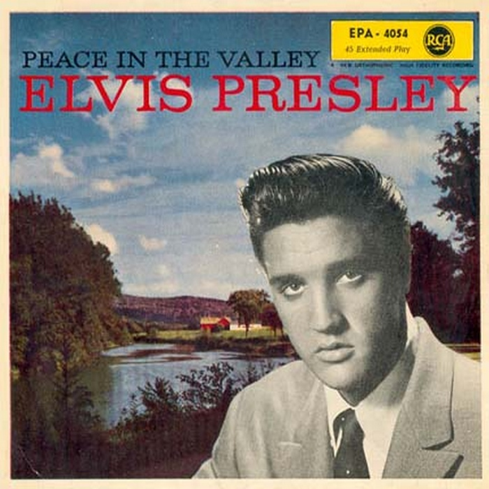 Image result for elvis presley peace in the valle single