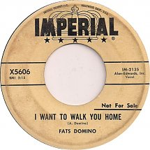 Image result for fats domino - i want to walk you home