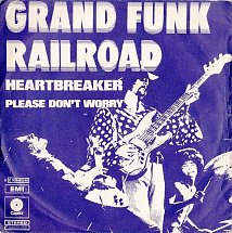 Image result for grand funk railroad heartbreaker single images