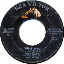 "Jesse Belvin, ""Guess Who"""