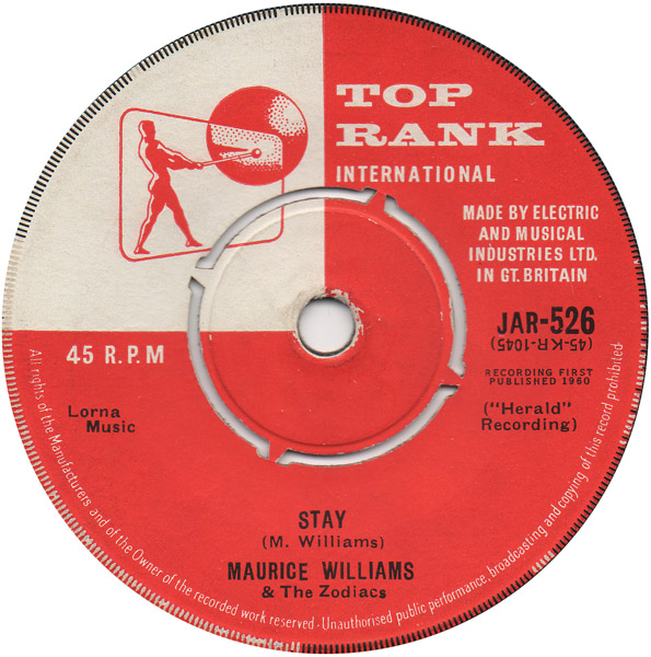 Image result for maurice williams the zodiacs