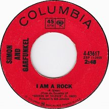 45cat - Simon And Garfunkel - I Am A Rock / Flowers Never ...