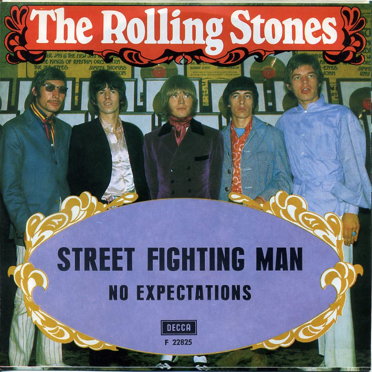 Street Fighting Man' by The Rolling Stones peaks at #48 in