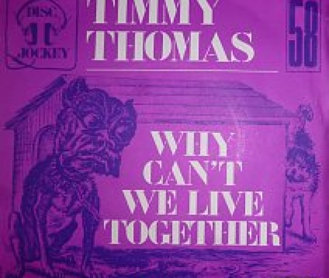 45cat Timmy Thomas Why Cant We Live Together Funky Me Polydor France 2001 420