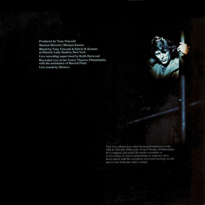 Vinyl Album David Bowie David Live RCA Victor UK