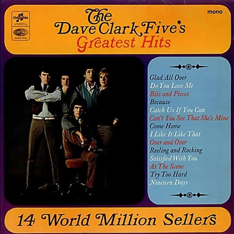 Image result for dave clark five greatest hits