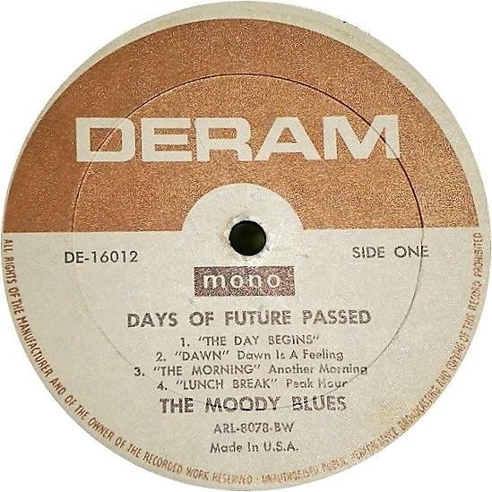 Moody Blues: U S  Discography | PopBopRocktilUDrop
