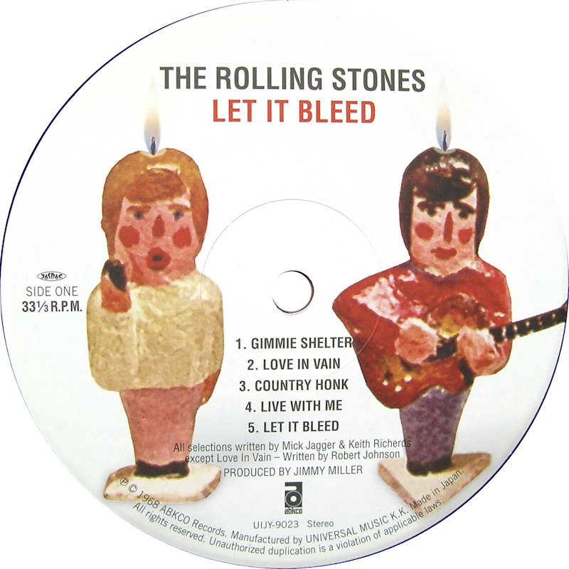Image result for the rolling stones let it bleed images