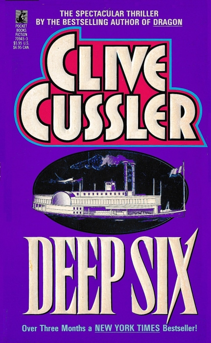 """Image result for """"Deep Six"""" by Clive Cussler (1984)"""