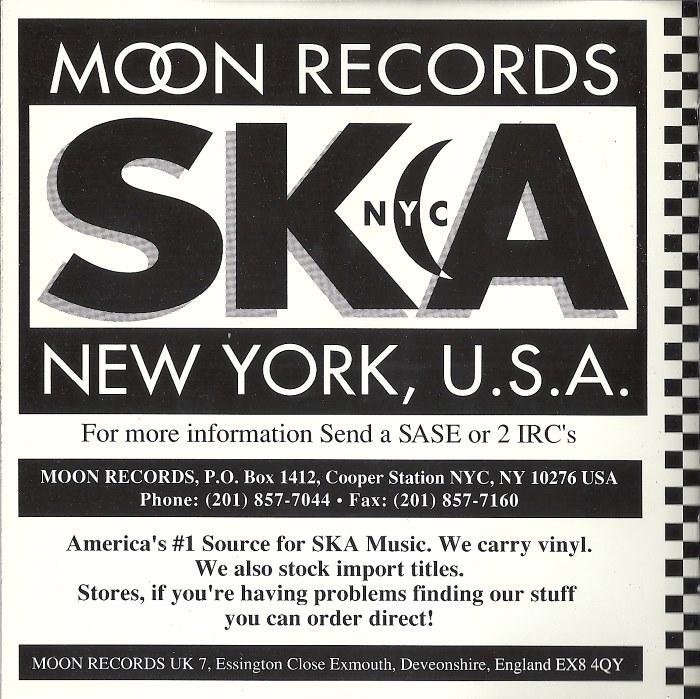 CD Album - The Toasters - Skaboom! - Moon Ska - USA