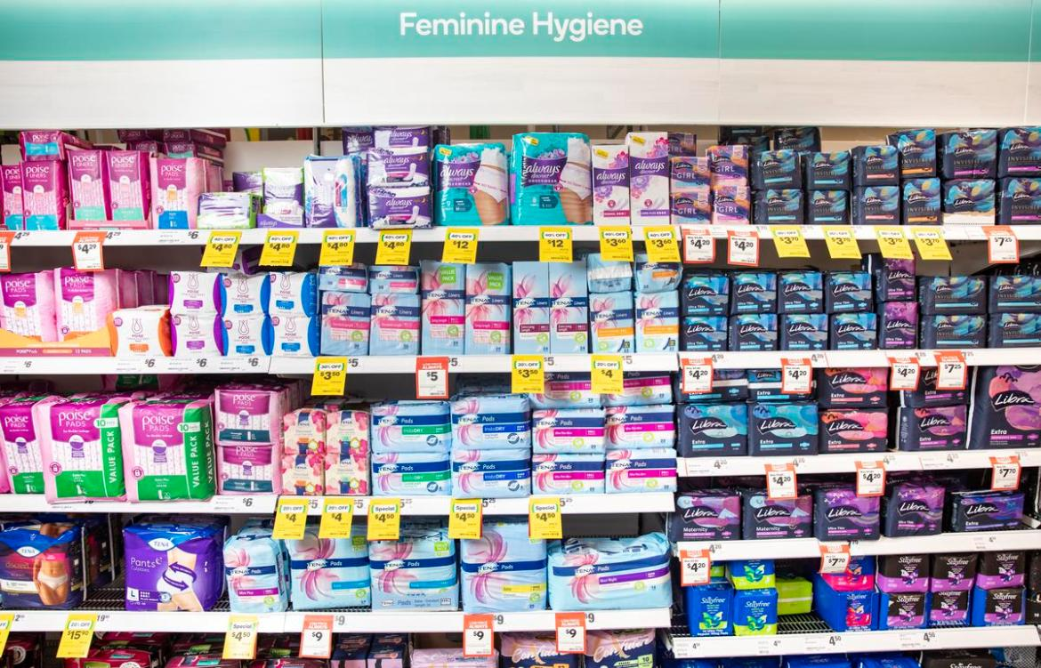 Woolworths is trying to reduce the shame and stigma associated with menstruation.