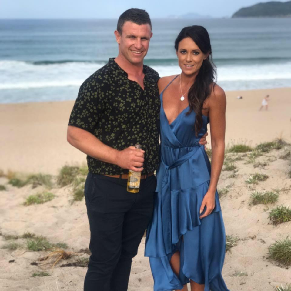 Rachael Ferguson, 32, was preparing to start an exciting new chapter with her husband Glen (both pictured) when she was given devastating news.