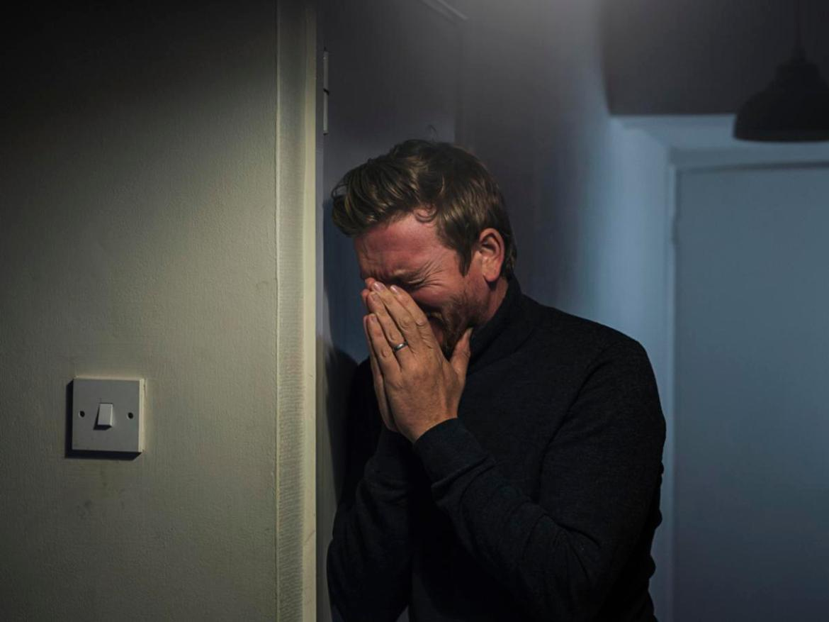The cruel prank left the man in tears. File image.