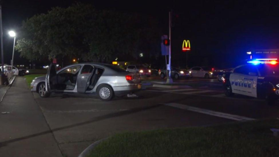 A pregnant woman was shot Friday night during a road rage incident in southeast Dallas, police say.