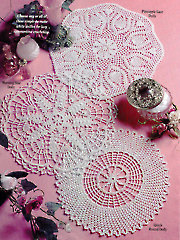 Trio of Doilies - Electronic Download