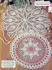 Vintage Chic Doilies - Electronic Download