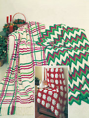 Crocheted Christmas Afghans - Electronic Download
