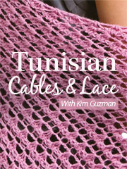 Tunisian Cables & Lace