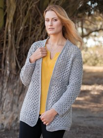 ANNIE'S SIGNATURE DESIGNS: Edna Valley Cardigan Crochet Pattern