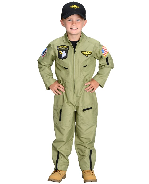 Jr. Air Force Pilot Toddler/Child Costume