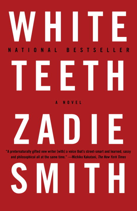 White Teeth by Zadie Smith, cover