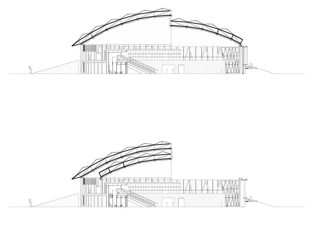 Galeria De Qatar E Construido O Primeiro Edificio
