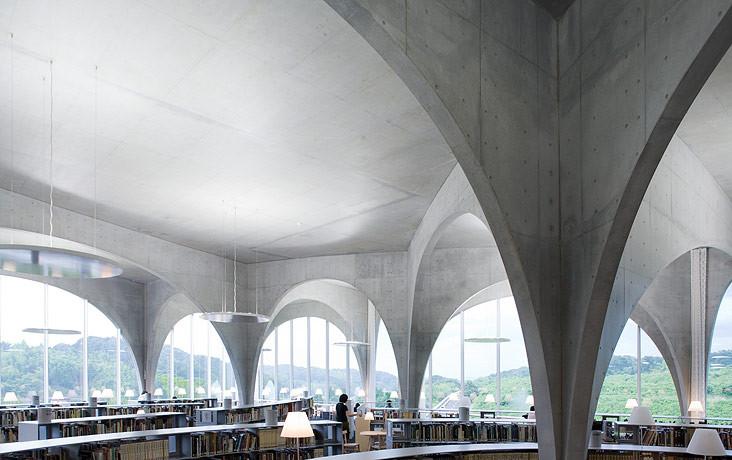 Gallery Of Tama Art University Library Toyo Ito