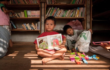 Bibliotecas infantiles- The Safe Haven Library