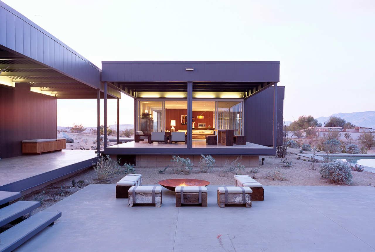 Best Kitchen Gallery: Gallery Of Desert House Marmol Radziner 16 of Marmol Radziner Homes on rachelxblog.com