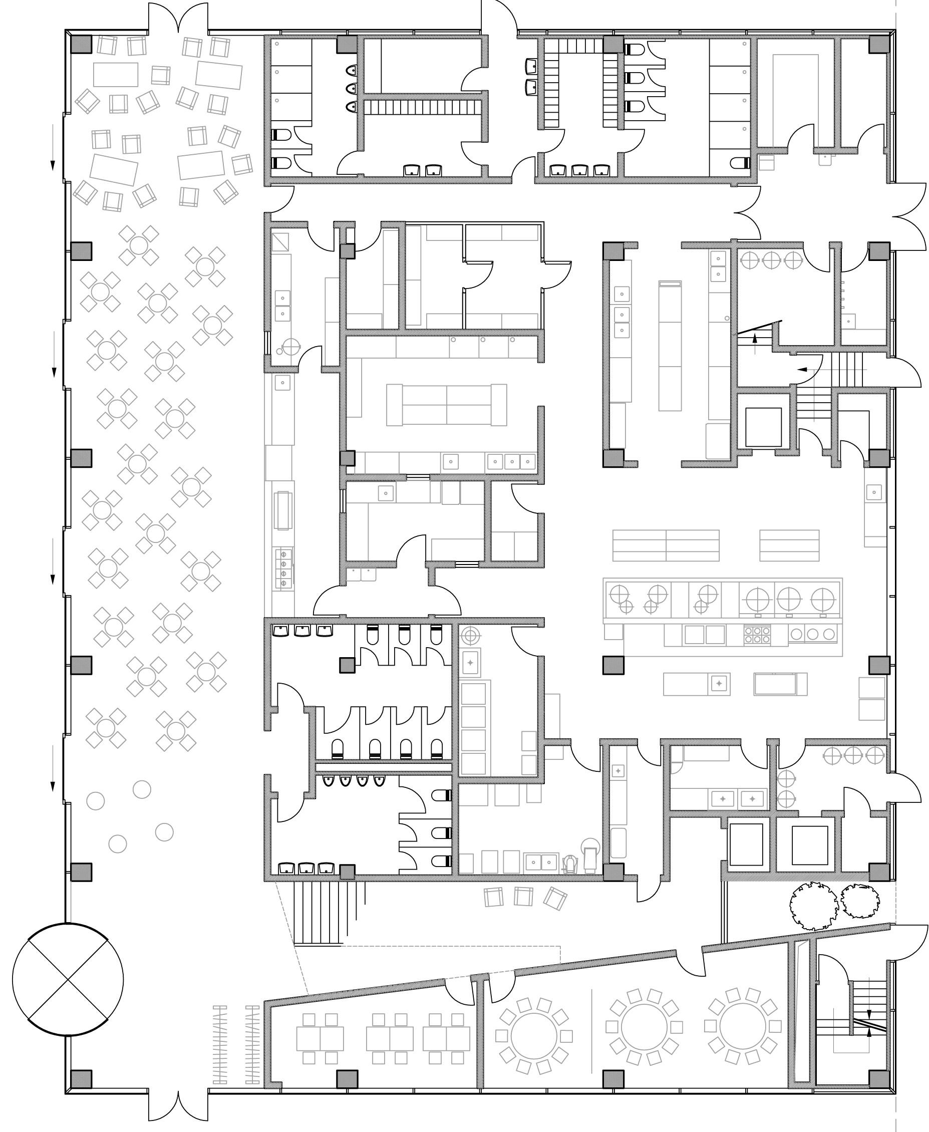 Gallery Of Roche Canteen EXH Design 19