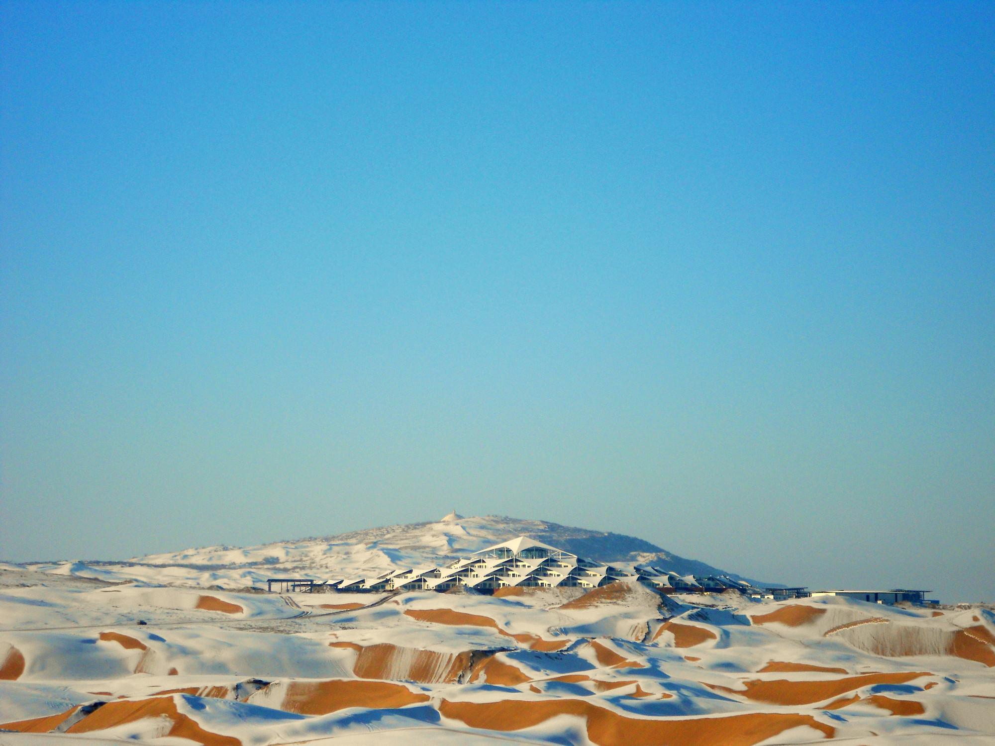 Gallery Of Xiangshawan Desert Lotus Hotel Plat Architects 6