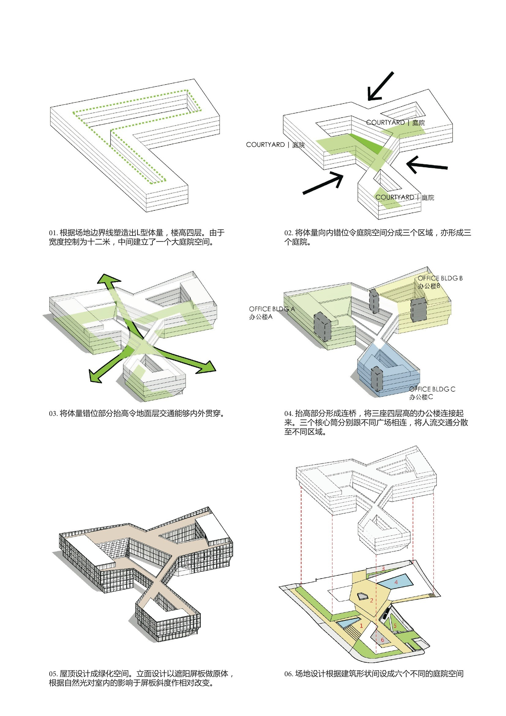 Gallery of Shanghai Hongqiao CBD Office Headquarters Building  LYCS Architecture  13